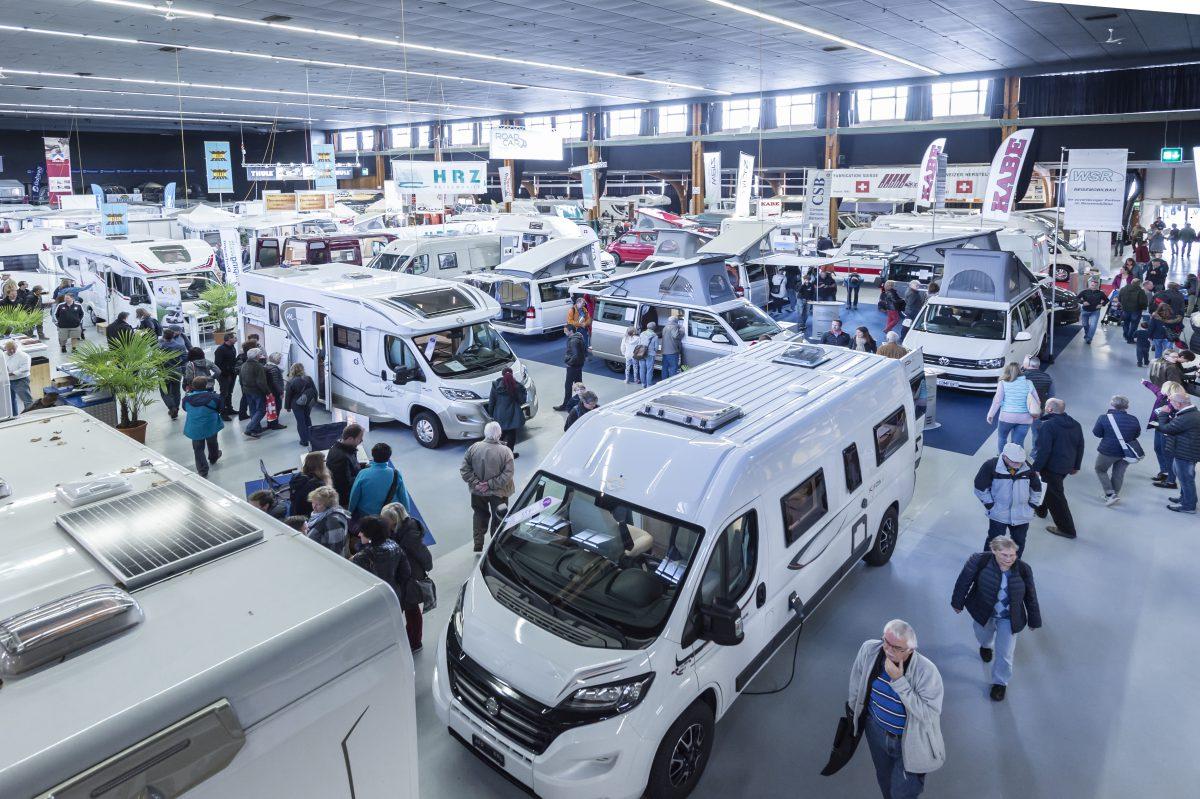 wohnmobil kaufen am suisse caravan salon